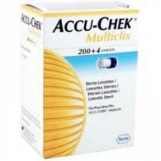 Lanceta Accu-Check Multclix  C/ 200