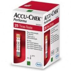 Tira Para Glicemia Accu-Check Perfoma