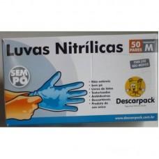 Luva de Procedimento Nitrílica - Descarpack