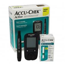 Monitor de Glicemia Accu-Check Active